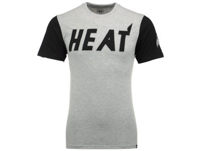 Miami Heat '47 NBA Men's Triple Up T-Shirt