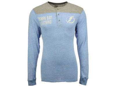 Tampa Bay Lightning '47 NHL Men's Neps Long Sleeve Henley T-Shirt
