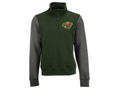 Minnesota Wild '47 NHL Men's Triple Coverage 1/4 Zip Pullover