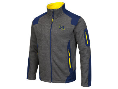 Michigan Wolverines Colosseum NCAA Double Coverage II Jacket