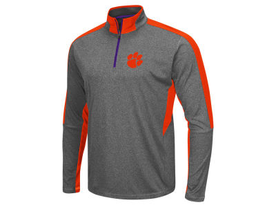 Clemson Tigers Colosseum NCAA Men's Atlas Quarter Zip Pullover