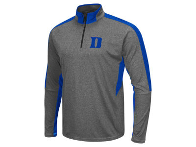 Duke Blue Devils Colosseum NCAA Men's Atlas Quarter Zip Pullover
