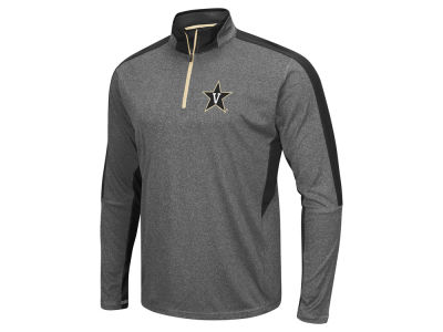 Vanderbilt Commodores Colosseum NCAA Men's Atlas Quarter Zip Pullover