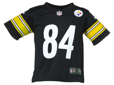 Pittsburgh Steelers Antonio Brown NFL Toddler Game Jersey