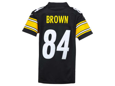 Pittsburgh Steelers Antonio Brown Nike NFL Youth Limited Jersey
