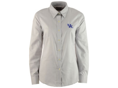 Kentucky Wildcats Antigua NCAA Women's Sharp Button Down Shirt