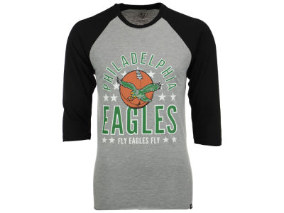 Philadelphia Eagles '47 NFL Men's Lockdown Raglan T-Shirt