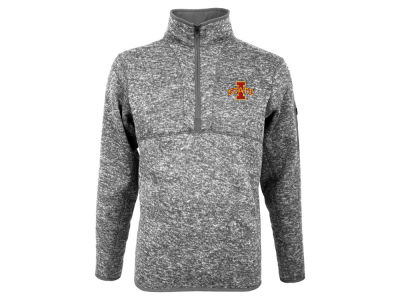 Iowa State Cyclones Antigua NCAA Men's Fortune Quarter Zip Pullover