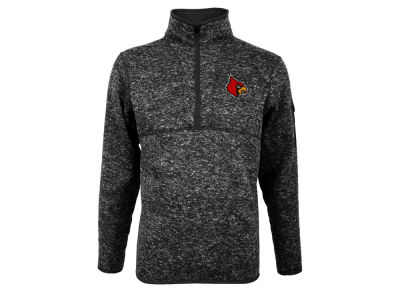 Louisville Cardinals Antigua NCAA Men's Fortune Quarter Zip Pullover