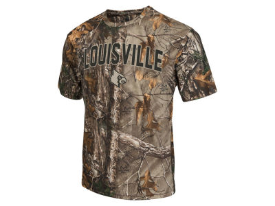Louisville Cardinals Colosseum NCAA Men's Realtree Brow Tine T-Shirt