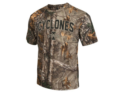 Iowa State Cyclones Colosseum NCAA Men's Realtree Brow Tine T-Shirt ES