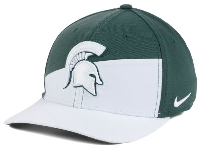 Michigan State Spartans Nike NCAA Verbiage Swoosh Flex Cap