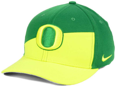 Oregon Ducks Nike NCAA Verbiage Swoosh Flex Cap