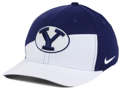 Brigham Young Cougars Nike NCAA Verbiage Swoosh Flex Cap
