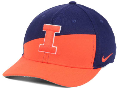 Illinois Fighting Illini Nike NCAA Verbiage Swoosh Flex Cap