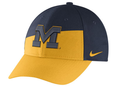 Michigan Wolverines Nike NCAA Verbiage Swoosh Flex Cap