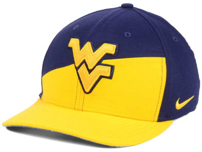 West Virginia Mountaineers Nike NCAA Verbiage Swoosh Flex Cap