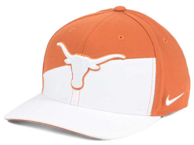 Texas Longhorns Nike NCAA Verbiage Swoosh Flex Cap