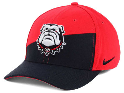 Georgia Bulldogs Nike NCAA Verbiage Swoosh Flex Cap