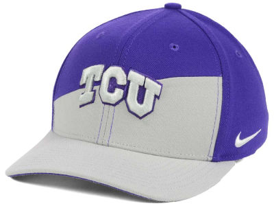Texas Christian Horned Frogs Nike NCAA Verbiage Swoosh Flex Cap