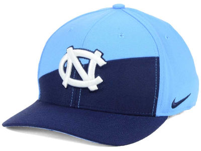 North Carolina Tar Heels Nike NCAA Verbiage Swoosh Flex Cap