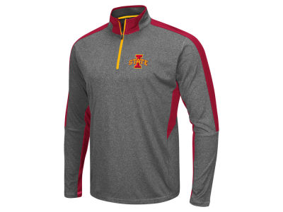 Iowa State Cyclones Colosseum NCAA Men's Atlas Quarter Zip Pullover