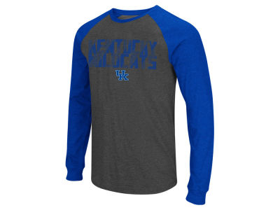 Kentucky Wildcats Colosseum NCAA Men's Olympus Long Sleeve Raglan T-Shirt
