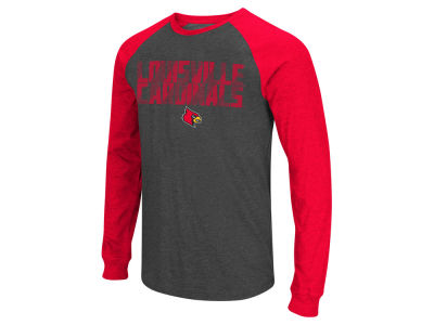 Louisville Cardinals Colosseum NCAA Men's Olympus Long Sleeve Raglan T-Shirt