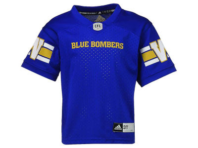 Winnipeg Blue Bombers adidas CFL Toddler Replica Jersey