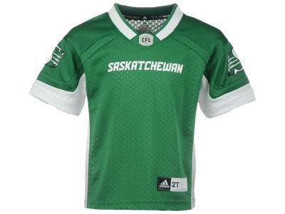 Saskatchewan Roughriders adidas CFL Toddler Replica Jersey