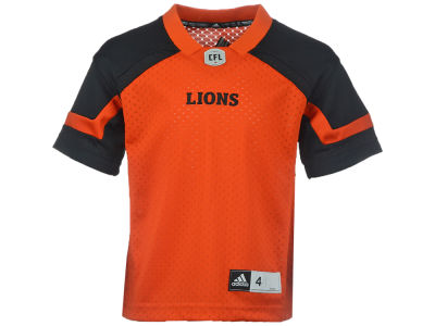 BC Lions adidas CFL Kids New Replica Jersey