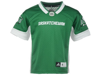 Saskatchewan Roughriders adidas CFL Kids New Replica Jersey