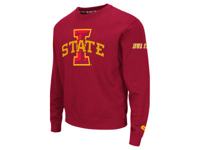 Iowa State Cyclones Colosseum NCAA Men's Zone II Crewneck Fleece Sweatshirt
