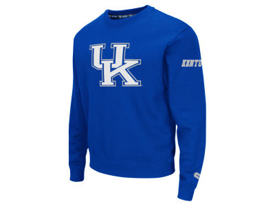 Kentucky Wildcats Colosseum NCAA Men's Zone II Crewneck Fleece Sweatshirt