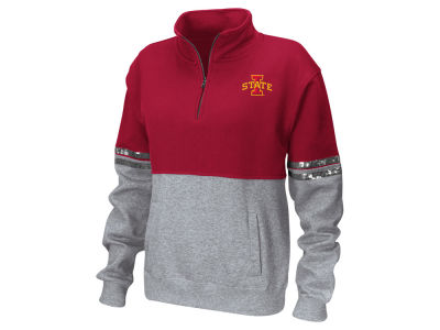 Iowa State Cyclones Colosseum NCAA Women's Rudy Quarter Zip Sweatshirt