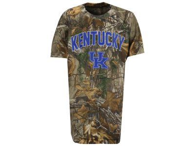 Kentucky Wildcats Colosseum NCAA Youth Realtree Buckshot T-Shirt