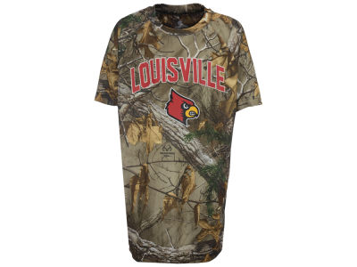 Louisville Cardinals Colosseum NCAA Youth Realtree Buckshot T-Shirt