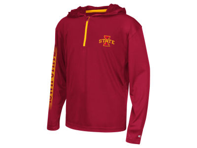 Iowa State Cyclones Colosseum NCAA Youth Sleet Quarter Zip Hoodie