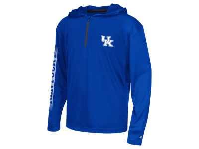 Kentucky Wildcats Colosseum NCAA Youth Sleet Quarter Zip Hoodie