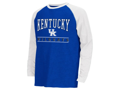 Kentucky Wildcats Colosseum NCAA Youth Kryton Raglan Long Sleeve T-Shirt