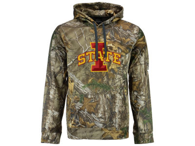 Iowa State Cyclones Colosseum NCAA Men's Realtree Breech Pullover Hoodie