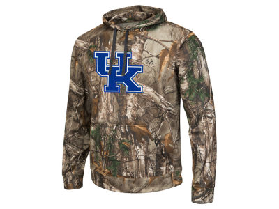Kentucky Wildcats Colosseum NCAA Men's Realtree Breech Pullover Hoodie