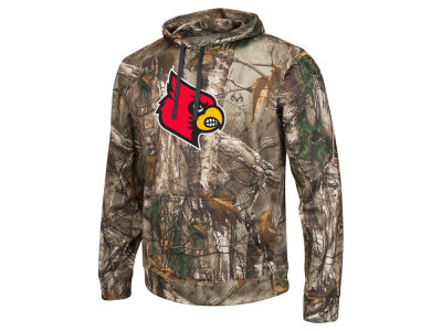 Louisville Cardinals Colosseum NCAA Men's Realtree Breech Pullover Hoodie
