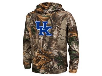 Kentucky Wildcats Colosseum NCAA Youth Realtree Raglan Pullover Hoodie
