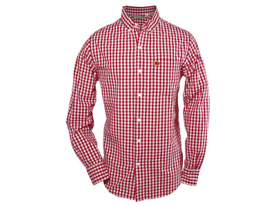 Iowa State Cyclones NCAA Men's Wilson Gingham Long Sleeve Button Down Shirt