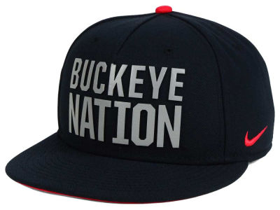 Ohio State Buckeyes Nike NCAA True Seasonal Strapback Cap