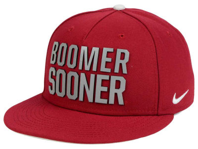 Oklahoma Sooners Nike NCAA True Seasonal Strapback Cap