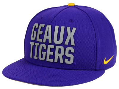 LSU Tigers Nike NCAA True Seasonal Strapback Cap