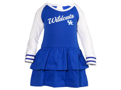 Kentucky Wildcats NCAA Toddler Girls Kacey Long Sleeve Dress