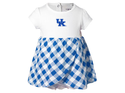 Kentucky Wildcats NCAA Newborn Girls Miranda Gingham Dress